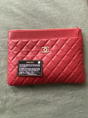 Chanel Large Pouch/Case for Sale in Seattle, WA