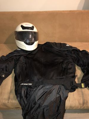 Motorcycle Helmet and Jacket for Sale in Boynton Beach, FL