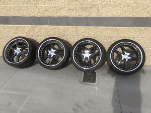 "20"" Löwenhart LSR 3pc staggered wheels & tires for Sale in Las Vegas, NV"