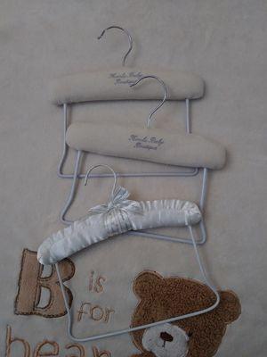 3 Koala Kids Baby Boutique Baby Clothing Padded Hangers. Baby Clothes Hangers. Padded Hangers. for Sale in Riverside, CA
