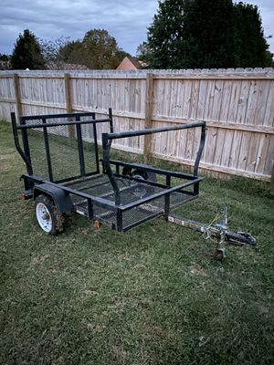 4x6 Utility Trailer with ladder racks for Sale in Suffolk, VA