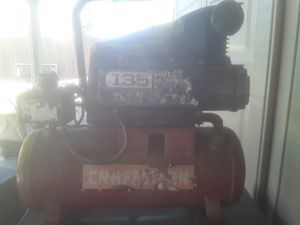 Craftsman 135 psi air compressor works good for Sale in Tracy, CA