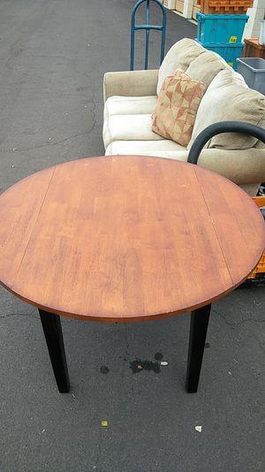 Antique drop leap solid wood table for Sale in Phoenix, AZ