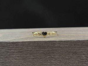 Size 4 10K Gold Dainty Small Heart Band Ring Vintage Estate Wedding Engagement Anniversary Gift Idea Beautiful Elegant Unique for Sale in Everett, WA