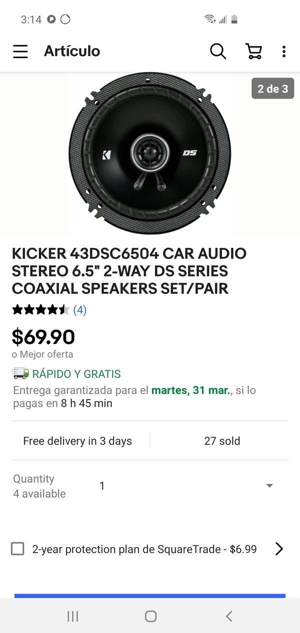 """Kicker 6 1/2"""" 240 watts"""