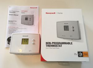 Honeywell non-programmable Thermostat for Sale in Grand Terrace, CA