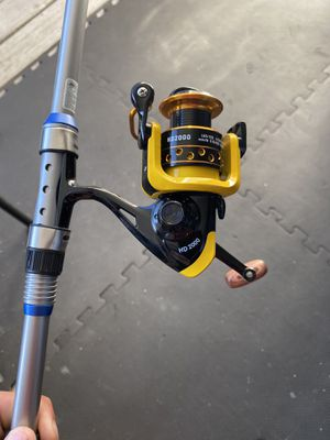Telescoping travel fishing rod for Sale in Surprise, AZ
