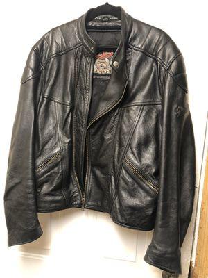 Flying Bike Mens size XL Leather Motorcycle/Biker Jacket for Sale in Lynnwood, WA