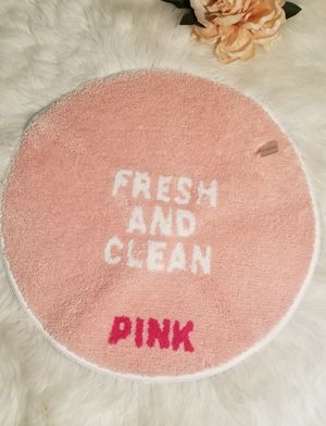 Victoria secret pink Bathroom mat for Sale in Houston, TX