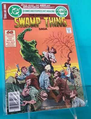 DC Comics The Original Swamp Thing Saga for Sale in Rancho Cucamonga, CA