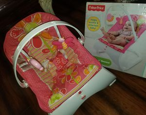 Fisher price bouncer for baby girl for Sale in South Gate, CA
