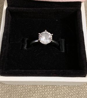 Silver zirconia ring for Sale in Chicago, IL