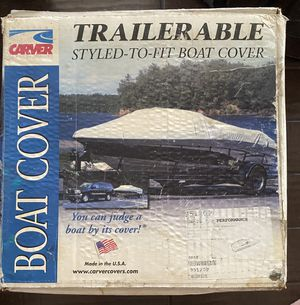 CARVER 95120P COVER 20 DECK BOAT POLY for Sale in Covina, CA