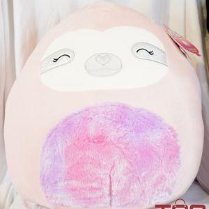 "Squishmallow 16"" Taryn Valentine's Day 2021 Sloth Plush for Sale in Olympia, WA"