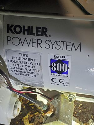 kohler marine gas genset for Sale in Puyallup, WA