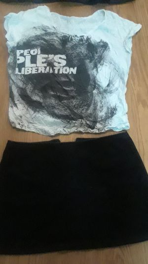 Each item $5. Small shirt small skirt. for Sale in Arlington, VA