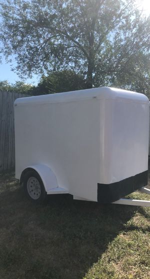 Steel 5x8 cargo trailer for Sale in Grand Prairie, TX