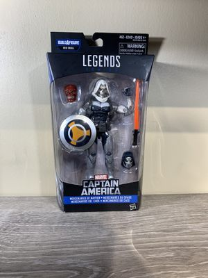 "Marvel Legends Captain America BAF Red skull 6"" Action Figure NEW for Sale in Plantation, FL"