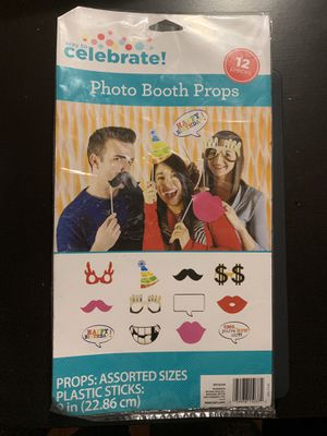 New photo booth props for Sale in Chicago, IL
