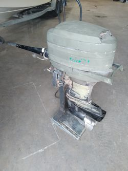35 hp mercury tiller handle outboard for Sale in OLD RVR-WNFRE,  TX