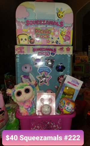 Squeezamals Easter basket for Sale in Las Vegas, NV
