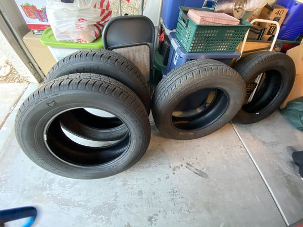 General Tires - set of 4 (275/60/20) 4500 miles on them. Took them off my 2020 Silverado when I got new tires.