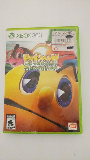 Pac man ghostly adventures Xbox 360 for Sale in Tallahassee, FL