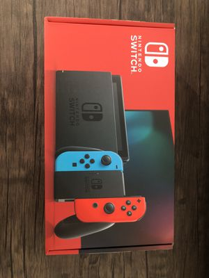 New Nintendo switch neon red/blue for Sale in Brooklyn, NY