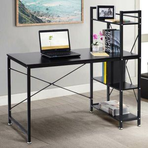 New Home Office Computer Desk Study Workstation with Bookshelf 49x24x48 inches for Sale in Whittier, CA