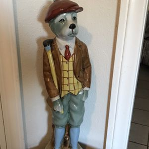 Golfing Dog Statue for Sale in Camp Pendleton North, CA