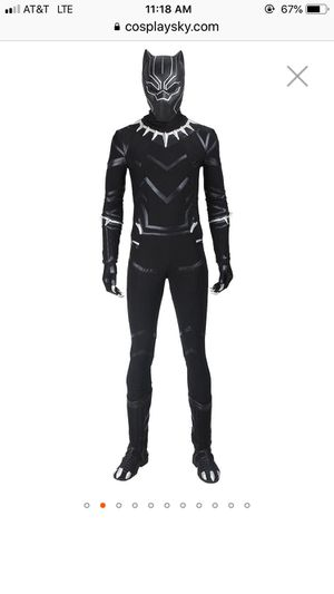 Cosplay black panther costume adult small brand new for Sale in Stanton, CA