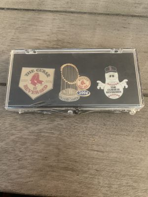 Red Sox pin set still sealed for Sale in Stoughton, MA