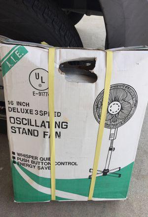 Stand fan 16' inch. for Sale in Lodi, CA
