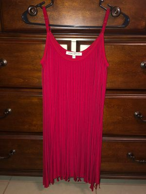 Red Fringe Dress Size M for Sale in McAllen, TX