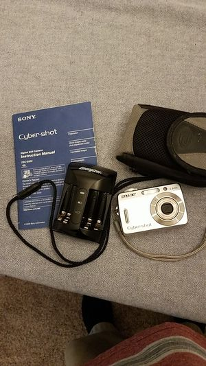 Sony Cyber shot Camera for Sale in Columbus, GA