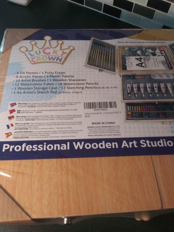New wood art studio