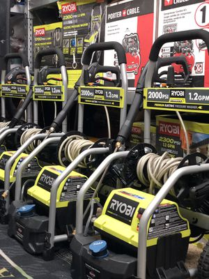 RYOBI 2,000 PSI 1.2 GPM Electric Pressure Washer for Sale in Long Beach, CA
