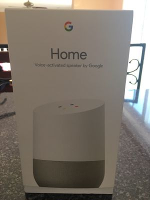 Google Home Voice Activated Speaker for Sale in Lawrence Township, NJ