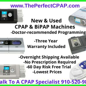 Already Programmed CPAP & BiPAP Machines & Supplies for Sale in Phoenix, AZ