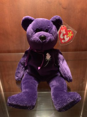 """Collectible """"Princess"""" Beanie Baby for Sale in Cumming, GA"""