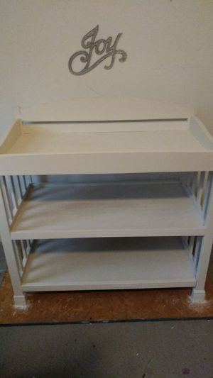 White baby changing table for Sale in St. Louis, MO