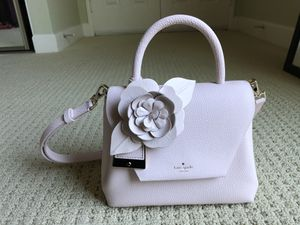 Kate Spade Madison Avenue Knollwood Street Small Annelie pink sand bag for Sale in Irvine, CA