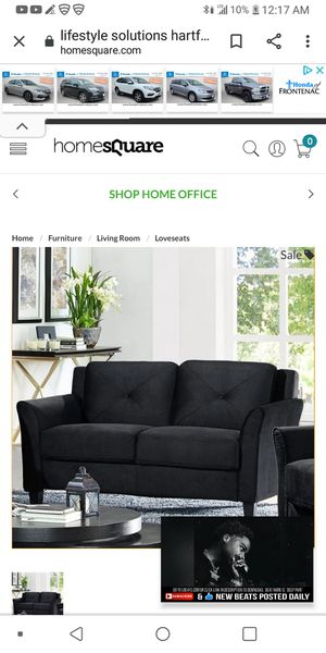 Hartford microfiber loveseat & chair set for Sale in St. Louis, MO