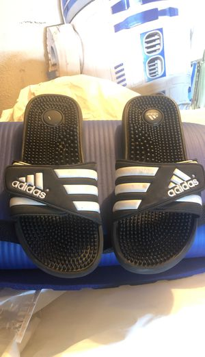 Adidas sandals for Sale in Fontana, CA