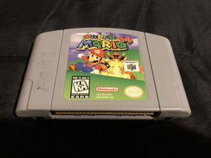 Super Mario 64 Game Pak N64 for Sale in Renton, WA