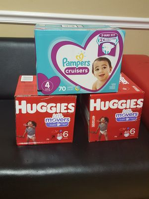 Pampers and Huggies diapers for Sale in Altamonte Springs, FL