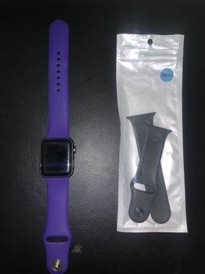 Apple Watch series 3 extra for the extra band. for Sale in West Point, MS