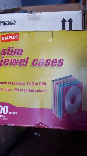 cajas protectoras de CD for Sale in Tampa, FL
