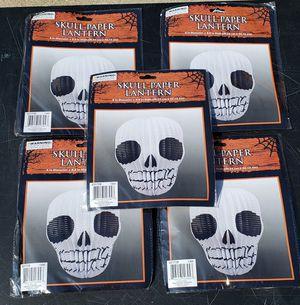 Skull Paper Lanterns (5 total) for Sale in Baldwin Park, CA