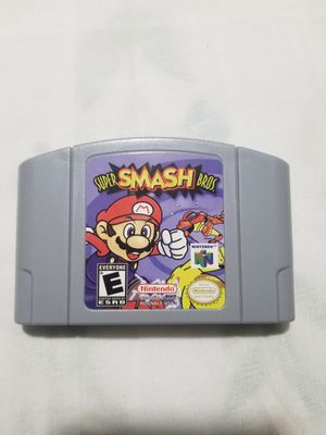 Nintendo 64 Super Smash Bros for Sale in Exeter, CA